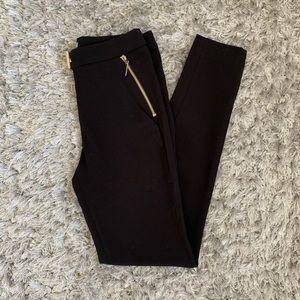 H&M Slim Fit Black Work Pants